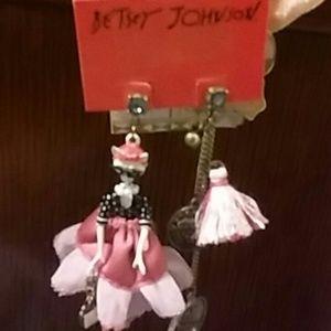 Betsey Johnson Mismatch Earrings